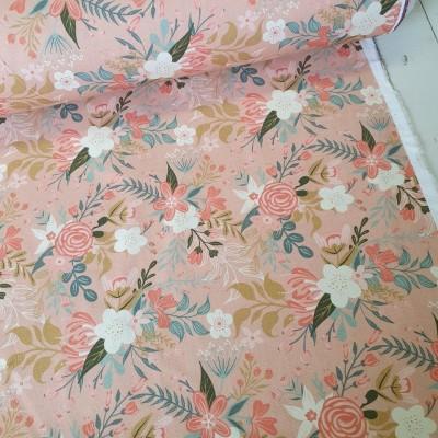 MYO Design Light Canvas - Wildflowers Bouquets - rosé