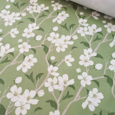 MYO Design - Heavy Canvas - Kirschblüte - grün