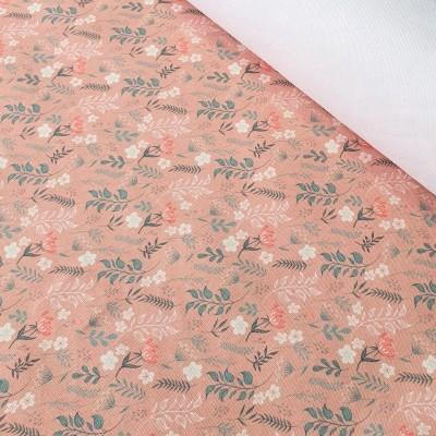 MYO Design - Heavy Canvas - Wildflowers Minis - altrosa