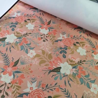 MYO Design - Heavy Canvas - Wildflowers Bouquets - altrosa