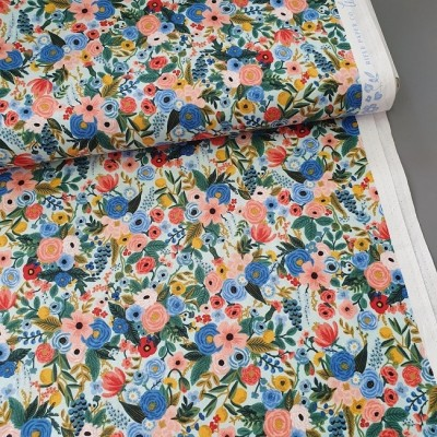 Cotton and Steel - Rifle Paper Co. - Wildwood - Petite Garden Party mint