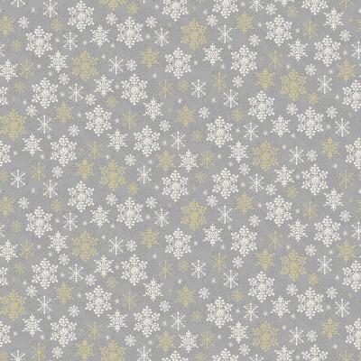 Makower - Scandi - Snowflake grey
