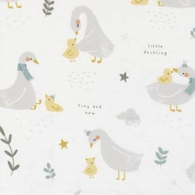 Little Ducklings - Little Ducklings white - Paper and Cloth  - Moda Fabrics