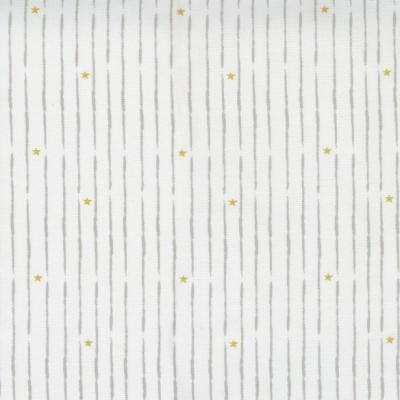 Little Ducklings - Broke Star Stripe white  - Paper and Cloth  - Moda Fabrics