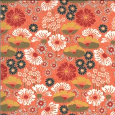 """Cortland"" - Pumpkin Cookie - Moda Fabrics"