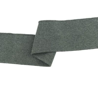Cuff - Bündchen grau meliert