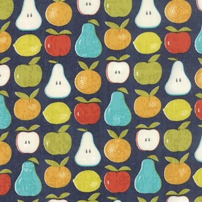 "Quarter 50cmx56cm - Moda Garden Project ""Mixed Fruit"" blueberry"