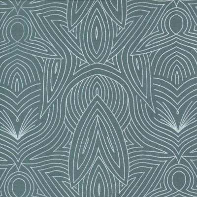 Nouveau sky - Dwell in Possibility von Gingiber - Moda Fabrics