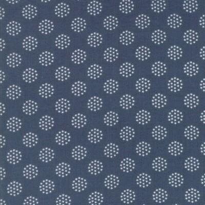 """Freedom"" graublau - Sweetwater - Moda Fabrics"