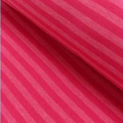 Reststück 56cm - Ringelbündchen pink-rosa meliert im Schlauch