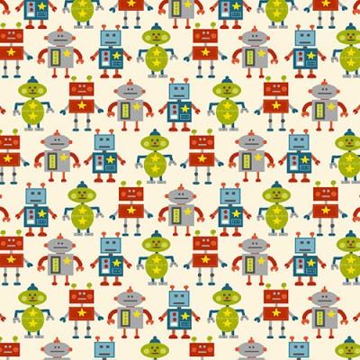 Makower - Robots weiß