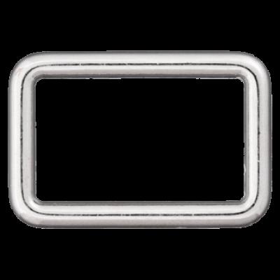 Rechteck-Ring, silber