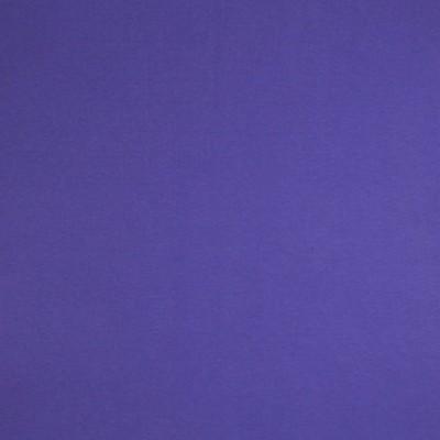 Glattes Bündchen uni kobaltblau im Schlauch
