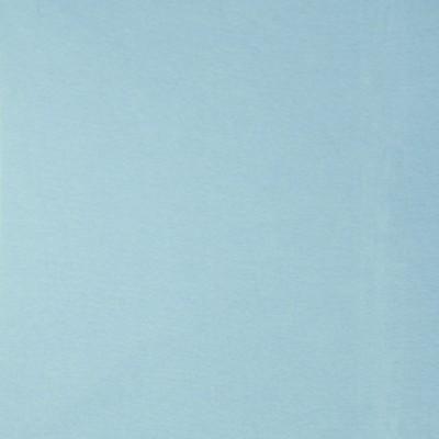 Glattes Bündchen uni delphinblau im Schlauch