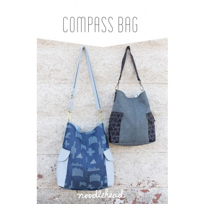 Noodlehead Schnittmuster - Compass Bag