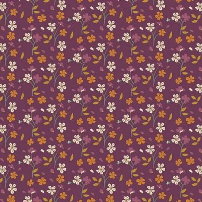 Art Gallery - Cozy Ditzy Plum - Autumn Vibes