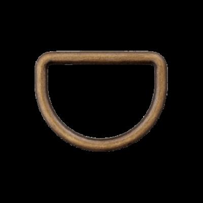 D-Ring altmessing 10mm-40mm verschiedene Breiten