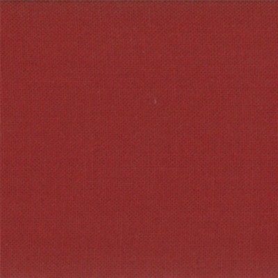 "Reststück 67cmx112cm - Moda Stoff ""Bella Solids"" - brick red"