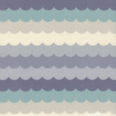Cotton and Steel - Panorama - Scallops - Arctic