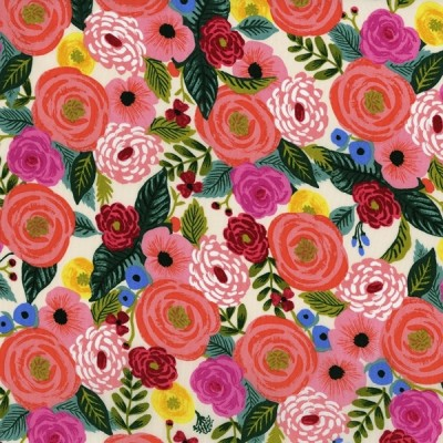 """""""English Garden"""" Rayon - Cotton and Steel"""
