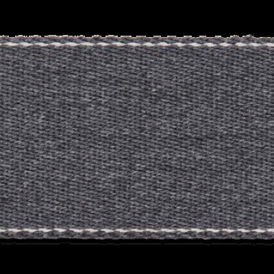 Pinstripe Gurtband 40mm breit - dunkelgrau