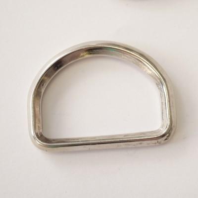 D-Ring silber glänzend 40mm