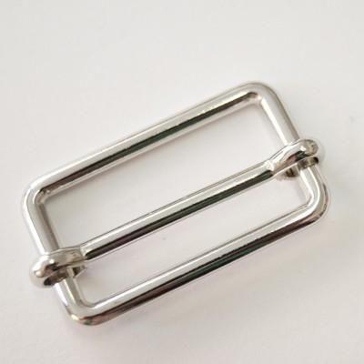 Metallschieber silber glänzend 25mm