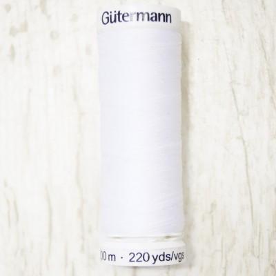 Gütermann Allesnäher Garn 200m col. 800 weiß