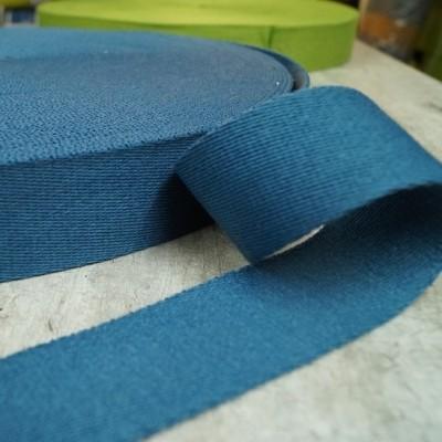 Gurtband 40mm - jeansblau