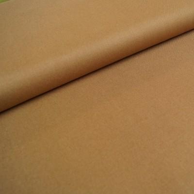 B-Ware Stück 39cmx140cm - Canvas - uni caramell