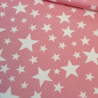 Reststück 100cm x 160cm - Hilco Jeany pink