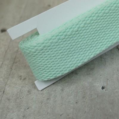 Gurtband mint - 2m - 25mm breit