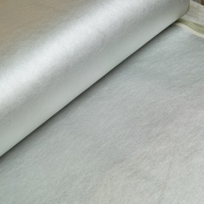 Metallic Kunstleder - silber