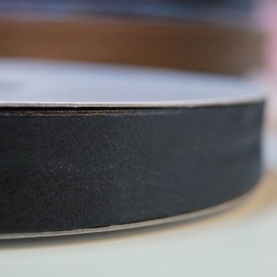 Leder Schrägband schwarz