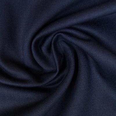 Twill / Canvas - uni dunkelblau