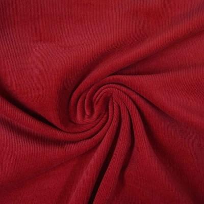Reststück 91cmx147cm - Uni Cord erdbeerrot - 16W