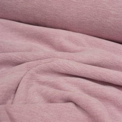 """Meliertes Fleece """"Tino"""" von Hilco rosé"""