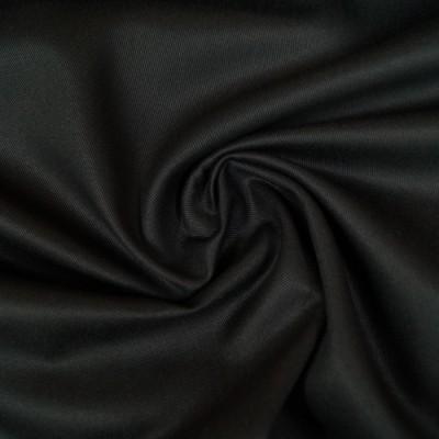 Twill / Canvas - uni schwarz