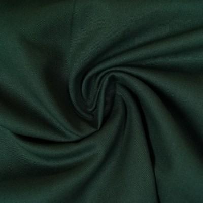 Twill / Canvas - uni dunkelgrün
