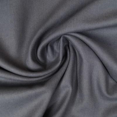 Reststück 44cmx140cm - Canvas - uni grau