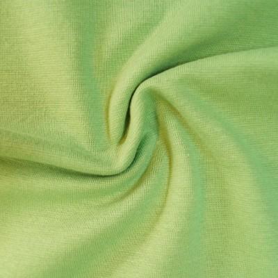 Glattes Bündchen grün - Ökotex