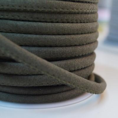 Lederkordel - 5mm - khaki