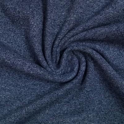 Meliertes Bündchen - dunkelblau