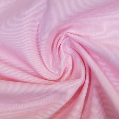 Pinstripe Chambray - leichte Baumwolle - rosé