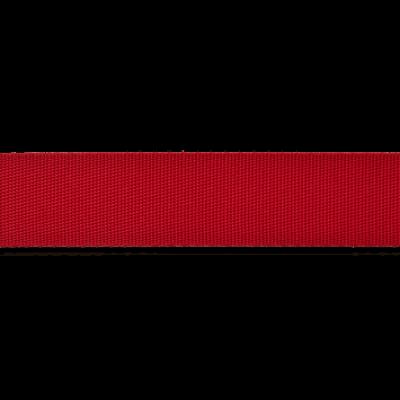 Dünnes Taschengurtband 25mm breit - rot