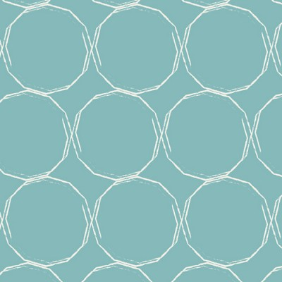 Quarter 53cmx56cm - Art Gallery - Essentials II - Hula Hoops Azur
