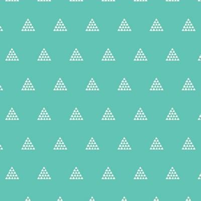 Art Gallery - Etno - Contempo Pyramids - aqua