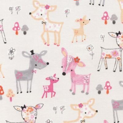 Reststück 62cmx110cm - Timeless Treasures Deer