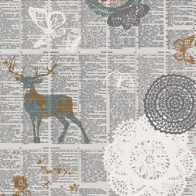 Reststück 59cmx112cm - Art Gallery - Doiland Gloss sparkler