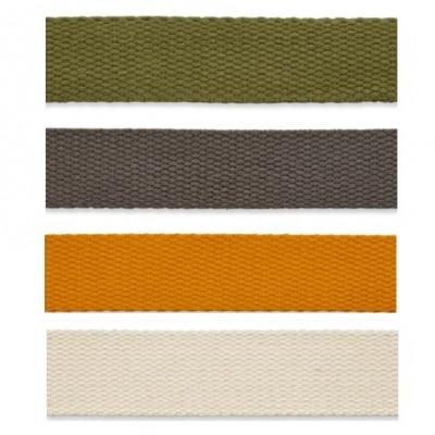 Baumwollgurtband 25mm - verschiedene Farben